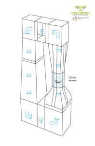 tubo aire paracaidismo