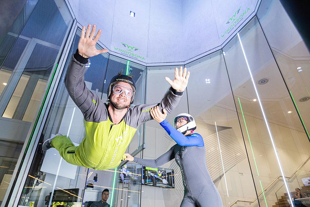 regalar salto en paracaídas Madrid