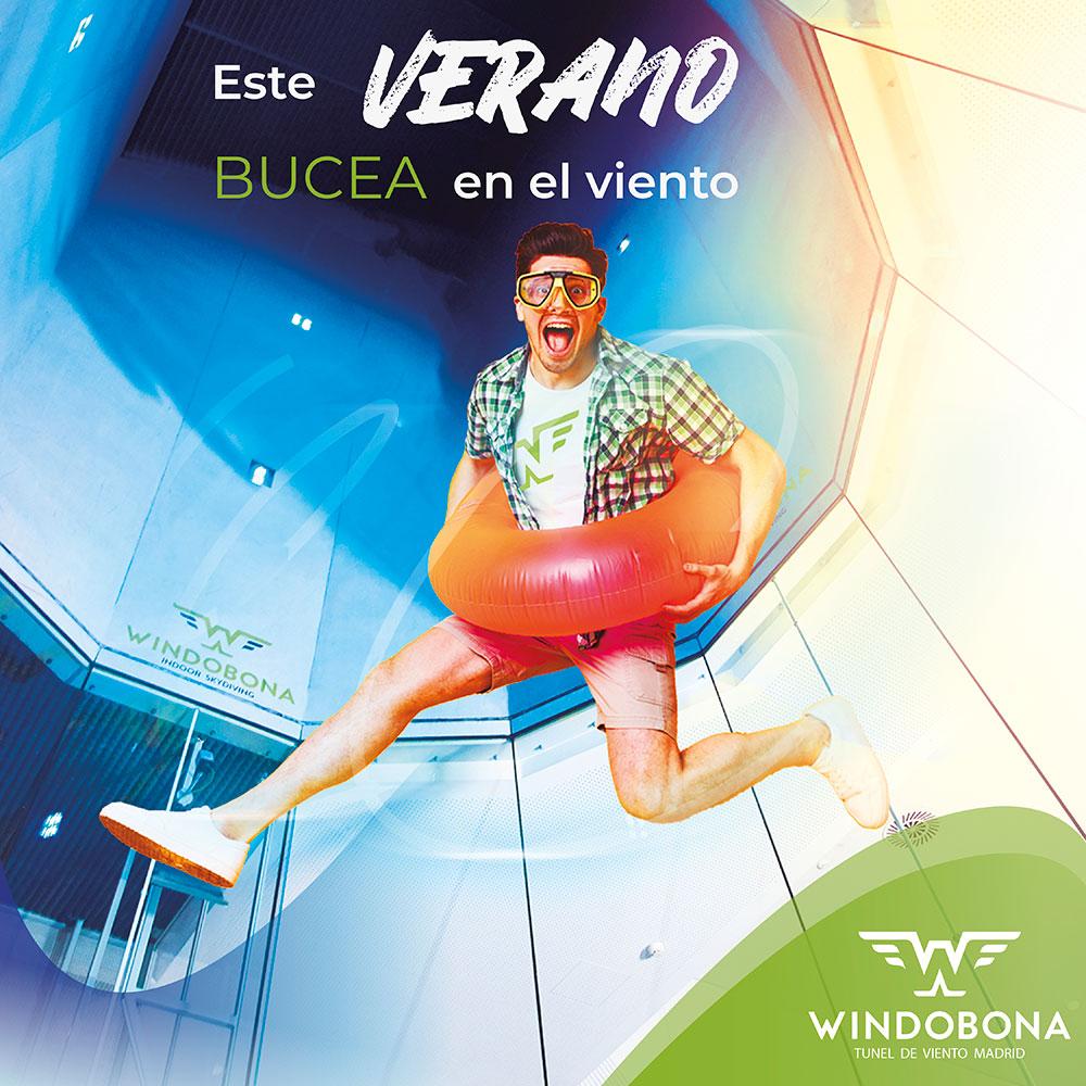 túnel viento Madrid ofertas